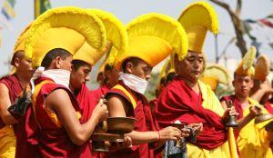 Тибетские монахи монастыря Гьюдмед снова в России!
