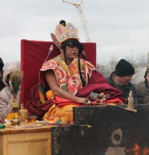геше-лхарамба Лобсанг Четен, Огненная Пуджа, Калмыкия