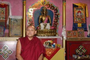 Дост.геше-лхарамба Лобсанг Четен - глава делегации монахов Дрепунг Гоманга