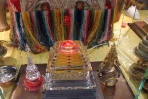 Священная реликвия Будды Шакьямуни из коллекции Ело Ринпоче, Калмыкия