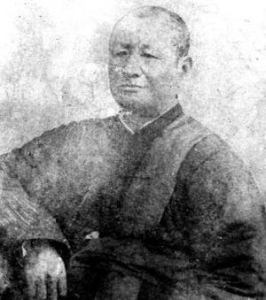 Калмыцкий монах, доктор тибетской медицины Дамбо Ульянов