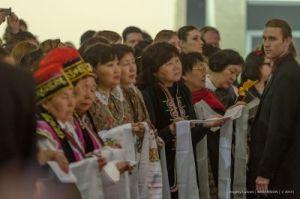 Паломники из Калмыкии в Латвии, Учение Его Св-ва Далай-ламы
