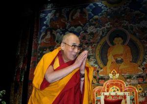 Его Святейшество Далай-лама, Рига, 2014 г.фото Гаря Лиджиева