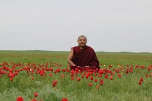 Буддийский монах центрального хурула Калмыкии дост. ген  НгавангЛодой