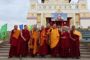 Калмыкия, в день рождения Его Святейшества Далай-ламы