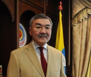 Глава Республики Калмыкия А. Орлов