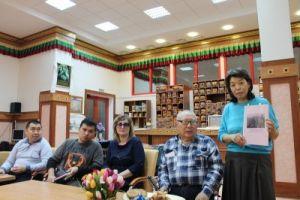 Клуб «Манджушри», встреча с читателями Национальной библиотеки имени А.М. Амур-Санана