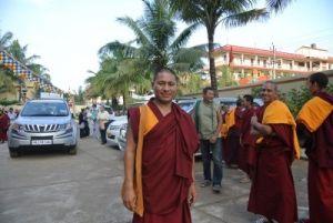дост. геше Церинг Тундуп, Индия