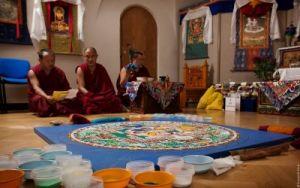 Мандалу Будды Амитаюса возведут в центральном хуруле Калмыкии