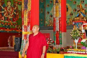 Молебен о долгой жизни Его Святейшества Далай-ламы состоялся в хуруле «Геден Шеддуб Чой Корлинг»