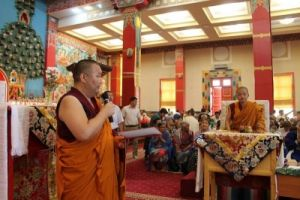 Центральный хурул РК, день рождения Его Св-ва Далай-ламы, настоятель гелюнг М. Овьянов