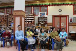 """Заседание клуба """"Манджушри"""", библиотека  центрального хурула Калмыкии"""