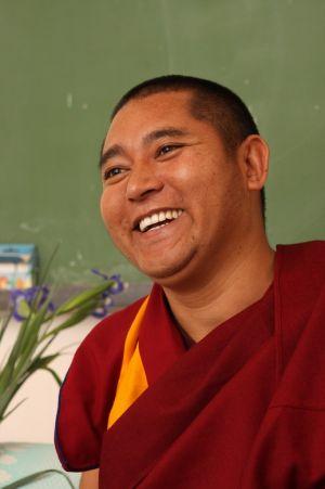 Визит Геше Лхарамба Чамба Тоньет в Россию в октябре
