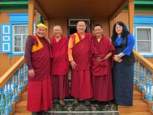 Визит депутата Тибетского Парламента Могру Тенпа в Россию