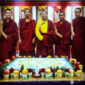 8-11 декабря – посвящения Манджушри, Ямантаки, Будды Медицины и Желтого Дзамбалы. Москва, «Белые облака»