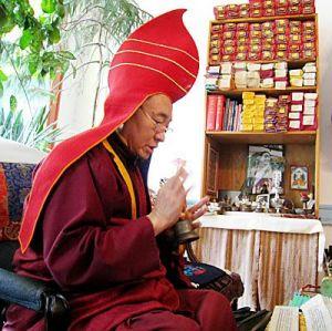 Визит Дост.Кхенпо Цеванг Донгьял Ринпоче в мае 2013 года.