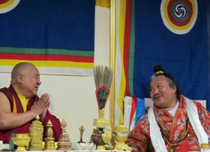 Посвящение Будды Шакьямуни от Кхенпо Чога Ринпоче и Ламы-Чудотворца Карма Джурме Ринпоче