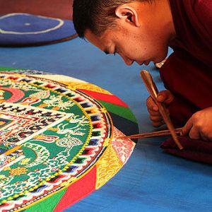 Возведение Мандалы Калачакры и буддийские учения в Открытом мире с 17 до 22 ноября