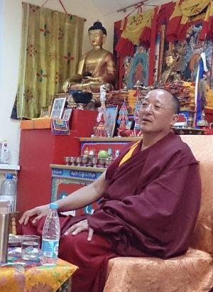 Визит выдающегося учёного Махапандита Намгьяла Ати Шераба Ньима Ринпоче в Москву в декабре 2016года.