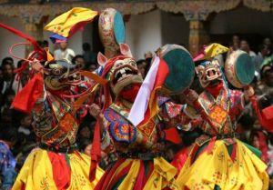 Празднование Лосара в Северном Кунсангаре 9 и 12-14 февраля