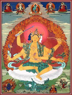 Наставления Гарчена Ринпоче по практике Цеванга Дзинпы.