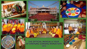 Официаальный тур 2014 по России монахов монастяря Дрепунг Гоманг