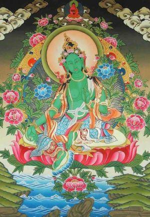 Кьябдже Гарчен Ринпоче дарует посвящение Зеленой Тары и учения 26-27 апреля 2020г.