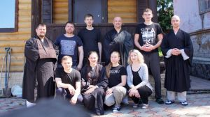 Встречи с монахом дзен Кэйдзи в Новосибирске