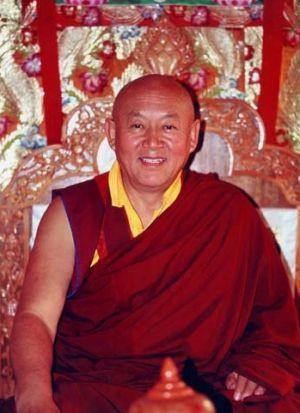 Drikung Kyabgön Chetsang Rinpoche