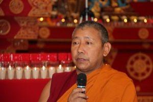 Приглашаем на встречу с геше Лобсанг Джампа