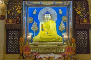 Статуя Будды в Бодхгае, Индия